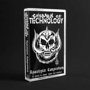 Children Of Technology - apocalyptic compendium - 10 years in chaos, noise and warfare (cassette tape)