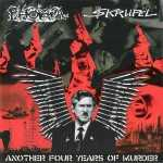 Phobia / $krupel - another four years of murder (solid white vinyl), Split-EP