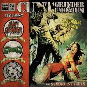 Cuntgrinder / Cuntemonium - the sexorcist tapes (Digi CD)