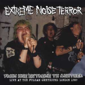 Extreme Noise Terror - from one extreme to another - Live at the Fulham Greyhound London 1989 (black vinyl), LP