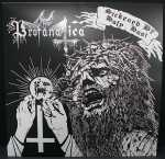 Profanatica - sickened by holy host (white + black vinyl, etched border), 2-LP