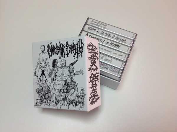 Nuclear Death - a symphony of nuclear death (6x Audio Kassetten Box)