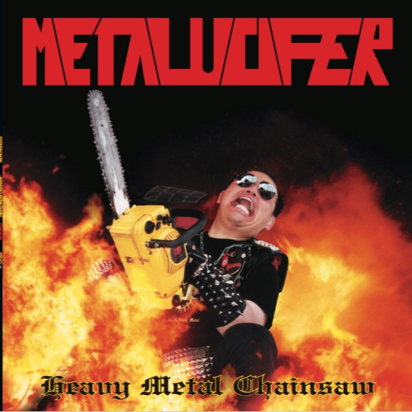 Metalucifer - heavy metal chainsaw (black vinyl), LP
