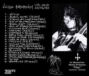 Voivod - anachronism - Live Demo 25/06/83 (CD)