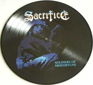 Sacrifice - soldiers of misfortune (Pic - LP)