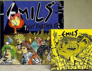 Emils - fight together for… (clear blue vinyl, lim. 100), LP + EP