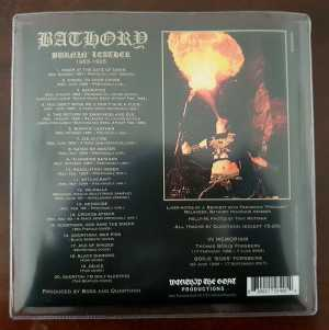 Bathory - burnin' leather 1983 - 1995 (EP cover CD + sticker)