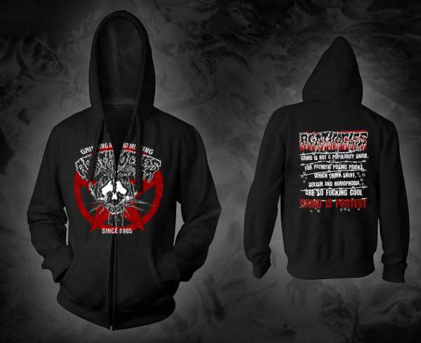 Agathocles - mincecore since 1985 (Hooded Zipper Jacket)