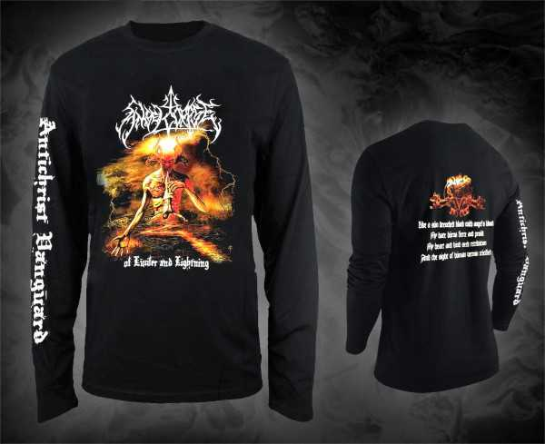 Angelcorpse - of lucifer and lightning (Longsleeve Shirt)