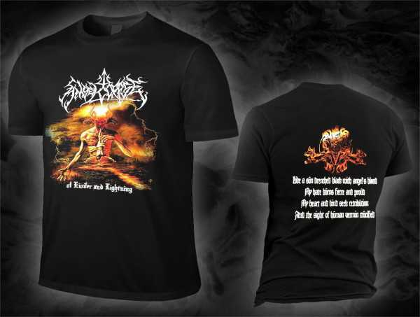 Angelcorpse - of lucifer and lightning (T-Shirt)