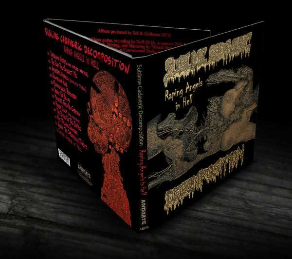 Sublime Cadaveric Decomposition - raping angels in hell (Digi CD)
