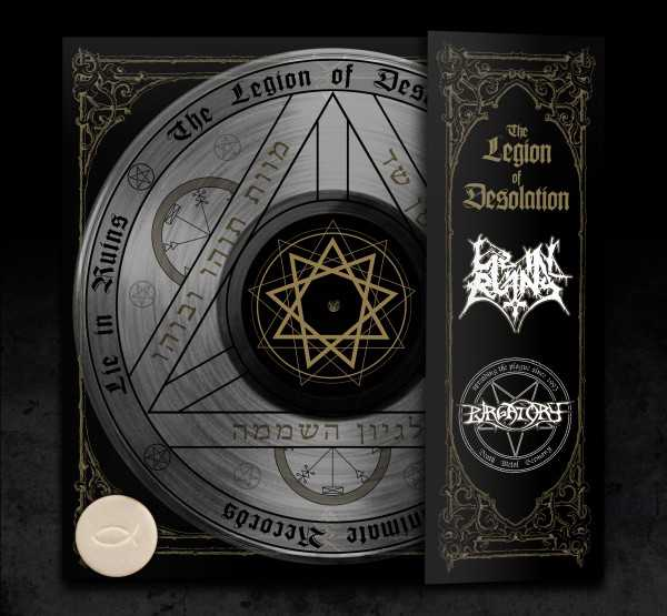 Purgatory / Lie In Ruins - the legion of desolation (black edition, lim. 350), Split-MLP