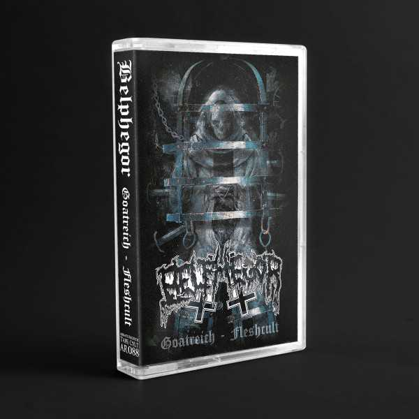 Belphegor - goatreich - fleshcult (cassette tape), Black Death Metal MC limited edition of 200 copies