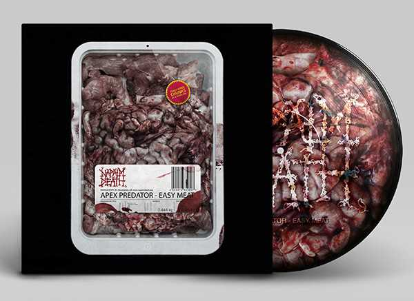 Napalm Death - apex predator - easy meat (Pic-LP) grindcore picture disc