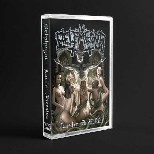 Belphegor - lucifer incestus (cassette tape), Black Death Metal MC limited edition of 200 copies