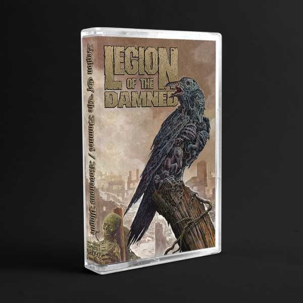 Legion Of The Damned - ravenous plague (cassette tape), Thrash Metal MC limited edition of 200 copies