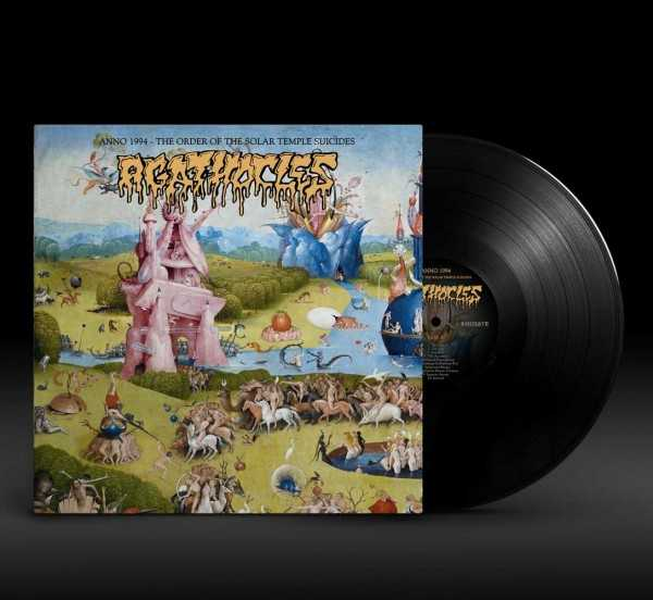 Agathocles - Anno 1994: the order of the solar temple suicides (black vinyl, lim. 300), LP