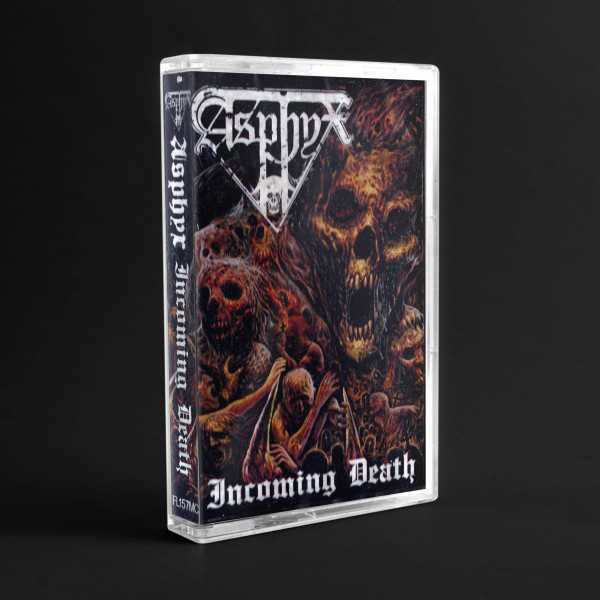 Asphyx - incoming death (cassette tape)