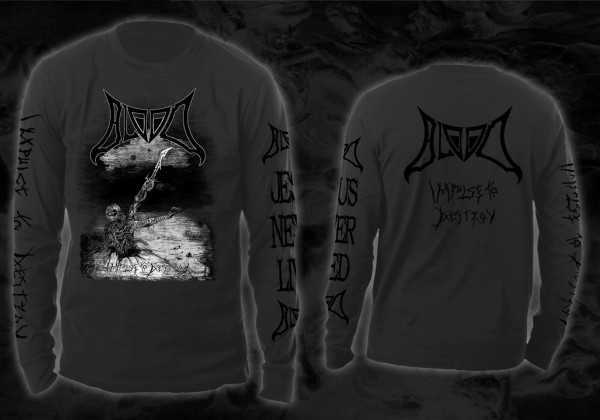 Blood - impulse to destroy (dunkel graues Longsleeve-Shirt)