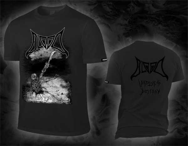 Blood - impulse to destroy (dunkel graues T-Shirt)