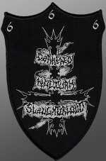 Darkened Nocturn Slaughtercult - coat of arms (patch)