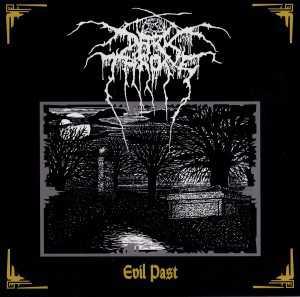 Darkthrone - evil past (EP cover CD)