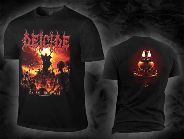 Deicide - to hell with god (T-Shirt)