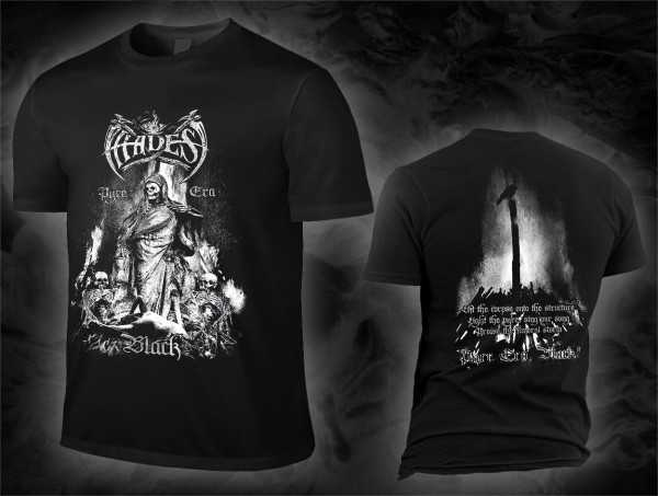 Hades Almighty - pyre era, black! (black T-Shirt)