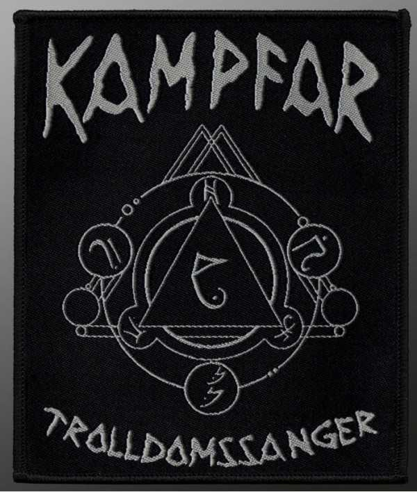 Kampfar - Trolldomssanger (Patch)