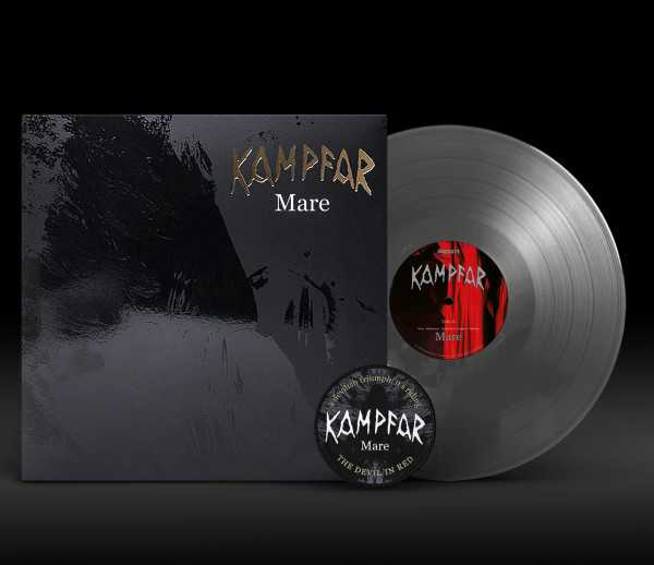Kampfar - Mare (clear vinyl, lim. 100), LP + Patch