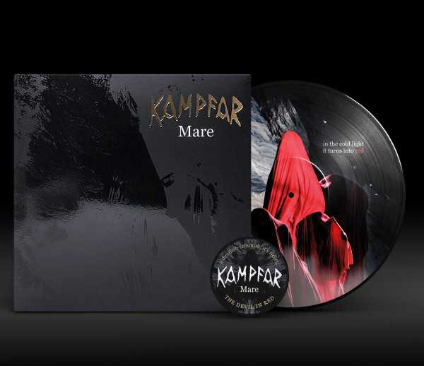 Kampfar - Mare (lim. 500), Pic-LP + Patch