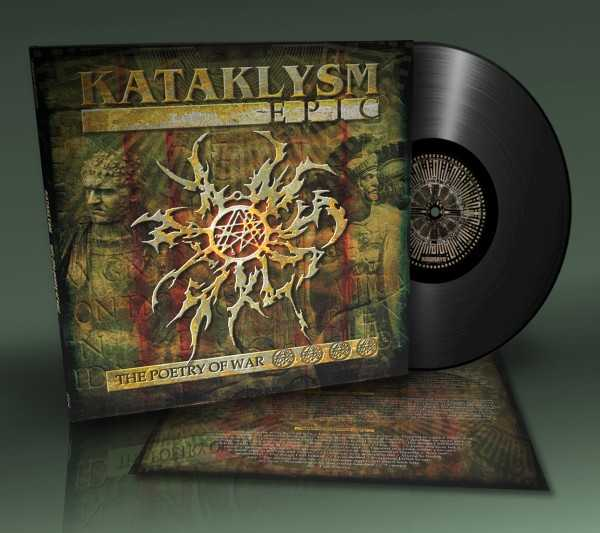 Kataklysm - epic - the poetry of war (black vinyl), LP