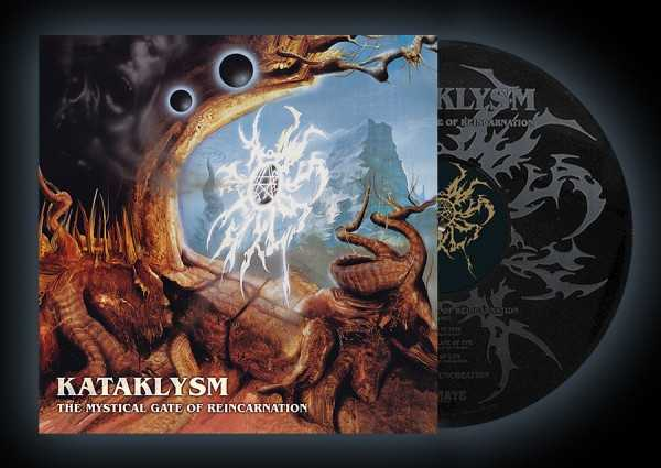 Kataklysm - the mystical gate of reincarnation (black vinyl, laser engraved B-side), LP