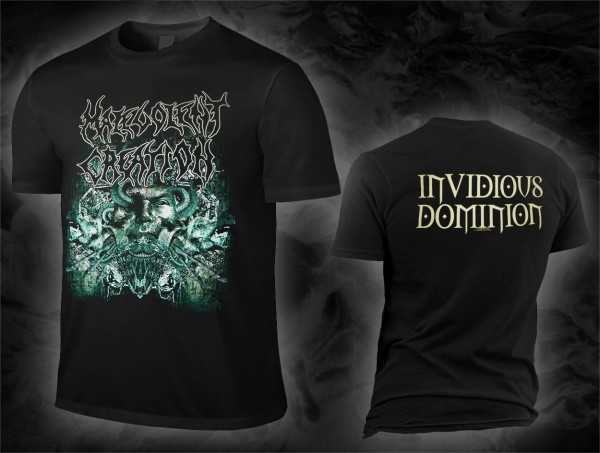 Malevolent Creation - invidious dominion (T-Shirt)