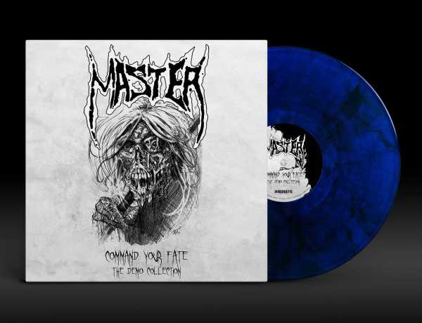 Master - command your fate: the demo collection (blau/schwarz marmoriertes Vinyl, lim. 100), LP