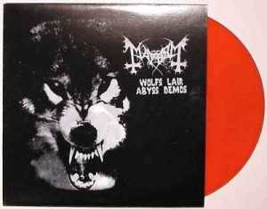 Mayhem / Emperor - wolfs lair abyss demos / ancient demos (clear red vinyl, lim. 300), Split-LP