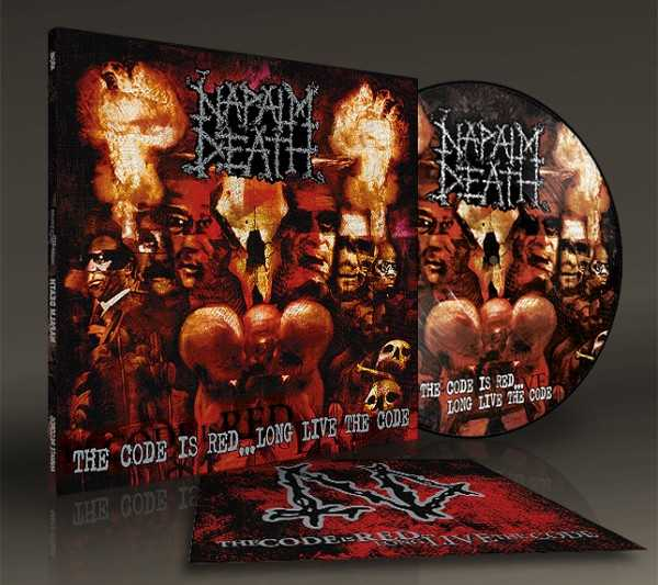 Napalm Death - the code is red…long live the code (lim. 500), Pic-LP