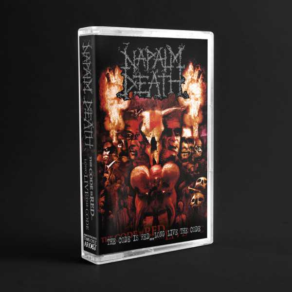 Napalm Death - the code is red … long live the code (cassette tape)