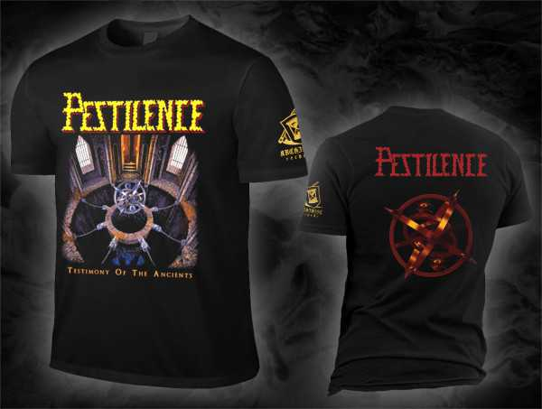 Pestilence - testimony of the ancients (T-Shirt)