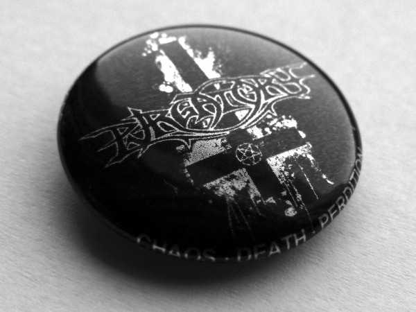 Purgatory - chaos death perdition (metal button)