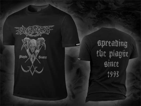 Purgatory - plague bearer (black T-Shirt)