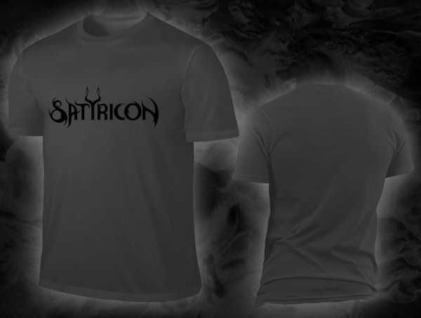 Satyricon - logo (T-Shirt)