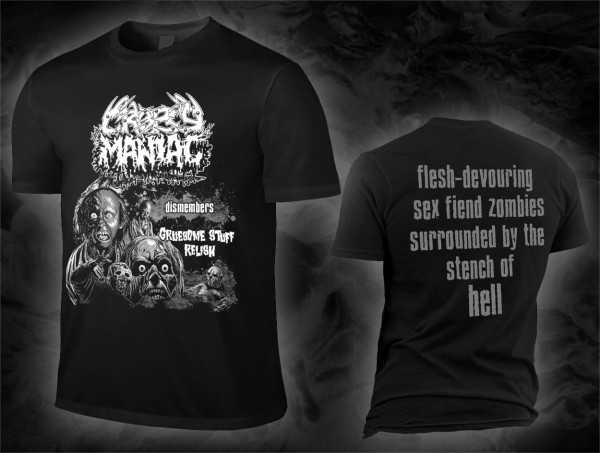 CROPSY MANIAC dismembers Gruesome Stuff Relish (T-Shirt)