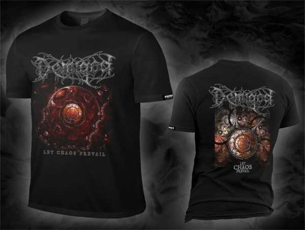Demigod - let chaos prevail / cover design (T-Shirt)
