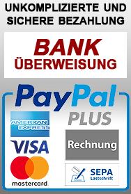 sichere Bezahlung