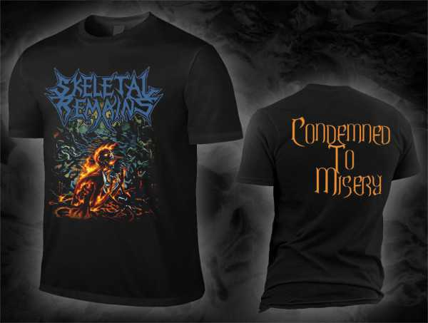 Skeletal Remains - condemned to misery (T-Shirt)