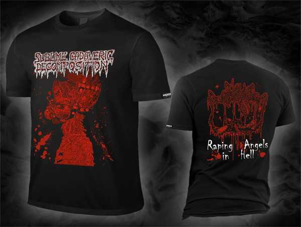 Sublime Cadaveric Decomposition - raping angels in hell (T-Shirt)