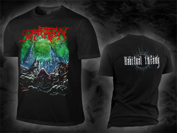 Suffocation - habitual infamy (T-Shirt)