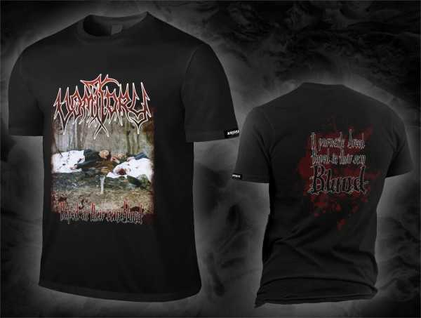 Vomitory - raped in their own blood (T-Shirt)